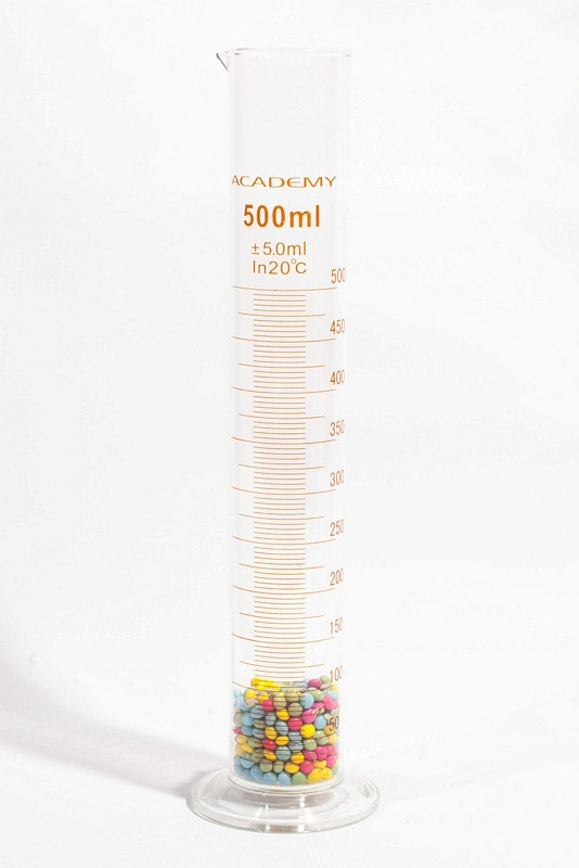 500ml Glass Measuring Cylinder