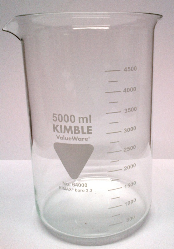5000ml Laboratory Borosilicate Glass Beaker