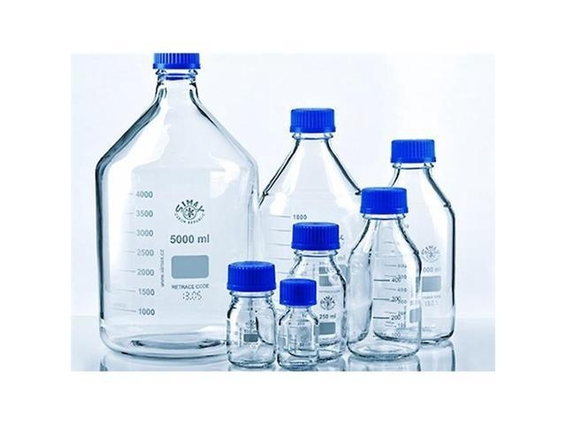 2000ml Laboratory Reagent Bottle Clear Glass PACK OF 10
