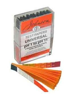 Johnsons Universal Indicator Paper pH 1 - 11 PACK OF 200 STRIPS