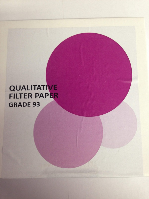 Whatman Filter Paper Grade 1 - Sml/Med Sizes