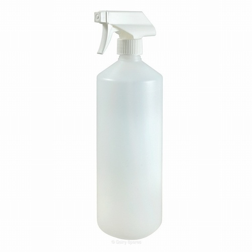 Wash Bottles Narrow Mouth with Trigger Spray